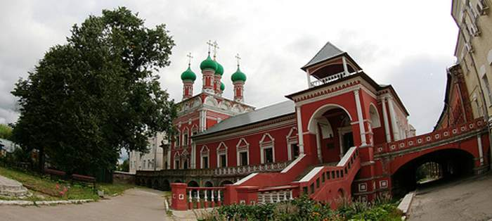 The Zaikonospassky Monastery